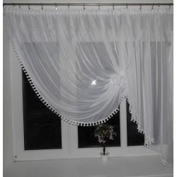 Paula - moderní záclona