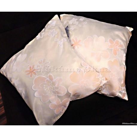 Dekorativní polštář  meruńkový