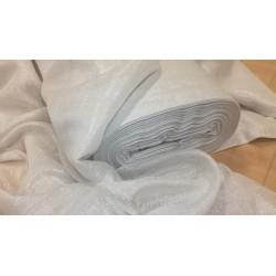 Dekorační materiál  stříbrný