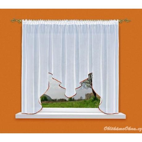 Neda - moderní záclona