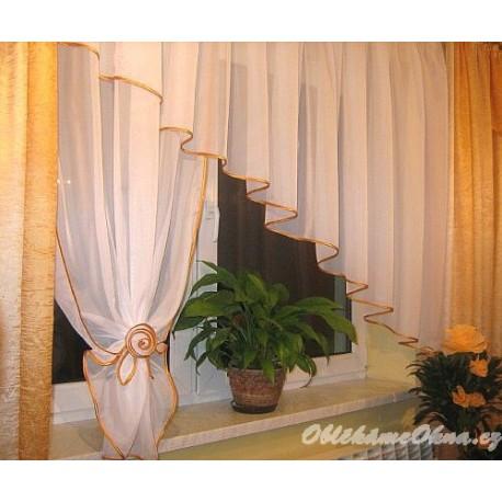Anie - moderní záclona