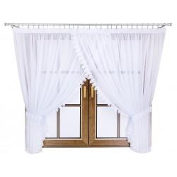 Linda krajková - moderní záclona