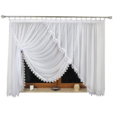 Marola s krajkou - elegantní záclona