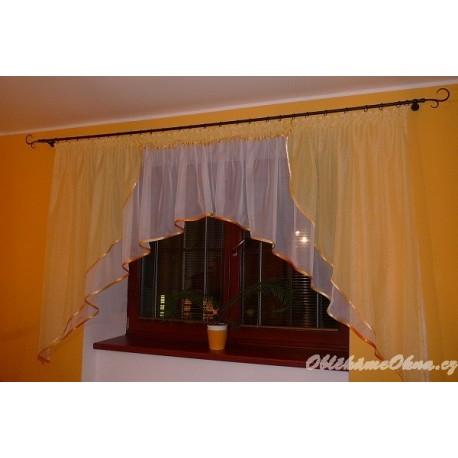 Luca - elegantní záclona