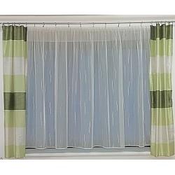Komplet záclona a závěs