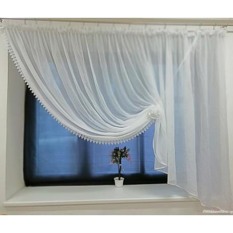 Paula - hotová záclona